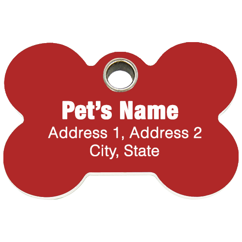 5 Personalized ID Tags ($10 ONLY)