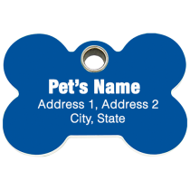 Pet ID Tag Special: Less than .95 cents a tag (500 TAGS)