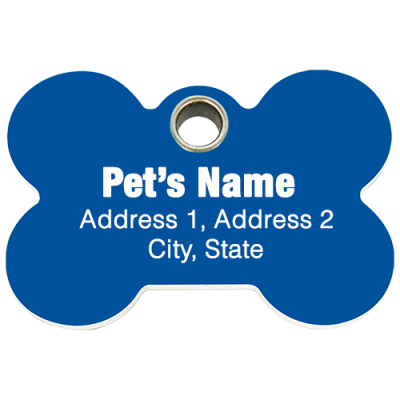 Pet Tag SPECIAL: Only $1.00 a tag (100 TAGS)