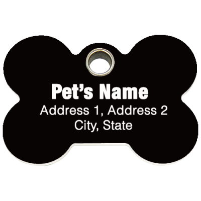 Animal Rescue Group ID Tags (25 Tags)